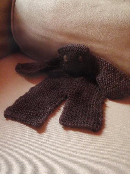 free knit toy pattern