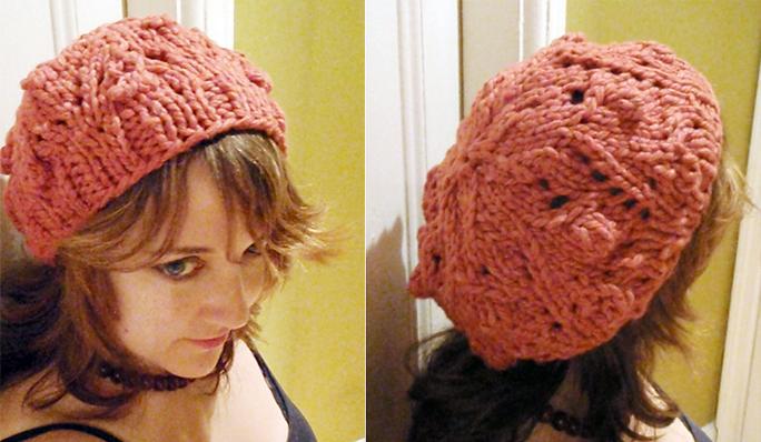 bobble lace knitting pattern free