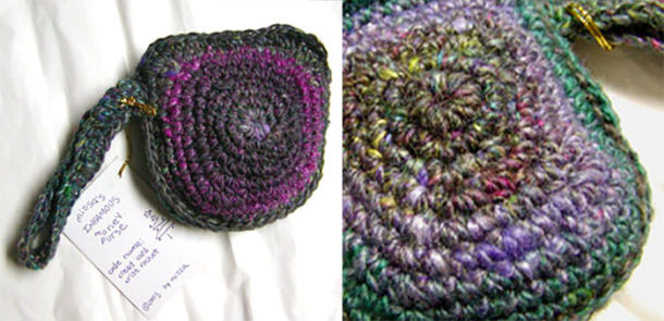 crochet money purse pattern