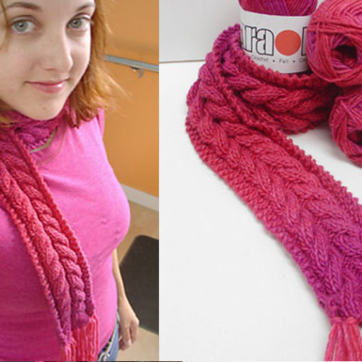 karaoke scarf pattern free
