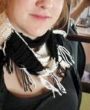 crochet - skinny scarf