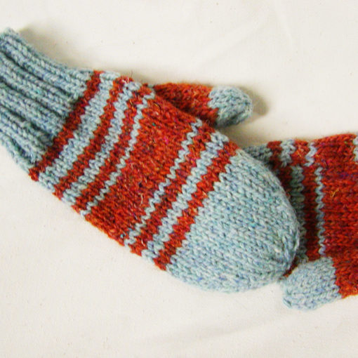 tweedy mittens knitting pattern