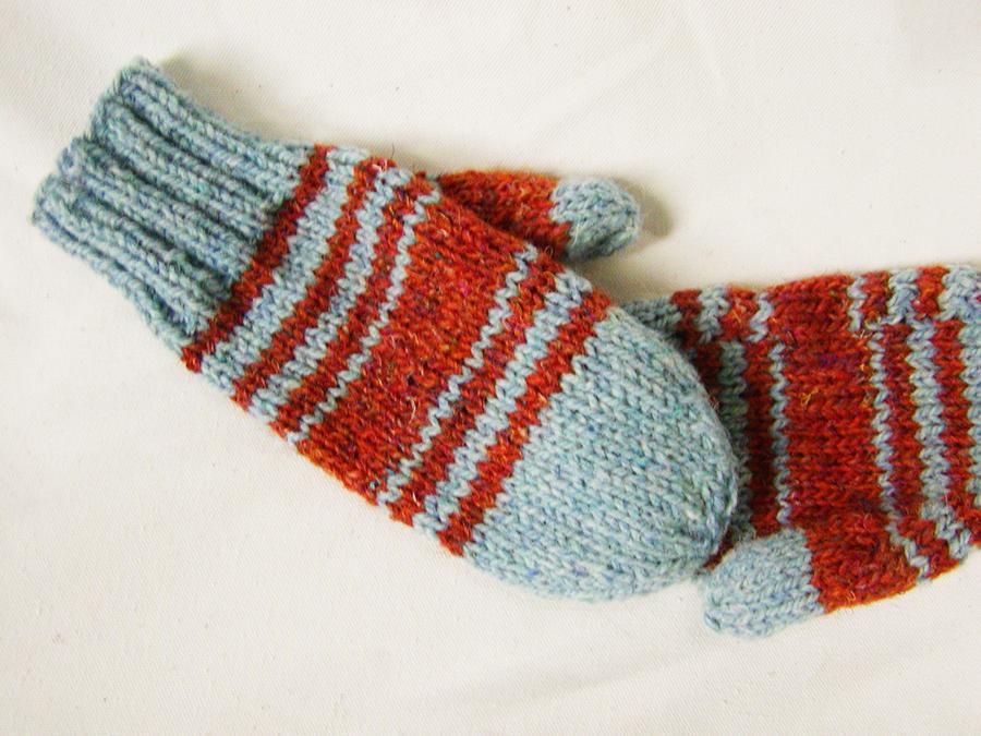 tweedy mittens knitting pattern